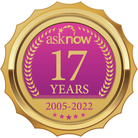 AskNow Anniversary Badge