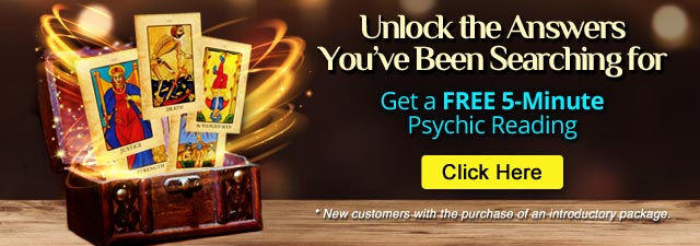 Unlock the Answers You've Been Searching for - FREE 5 Minute Psychic Reading
