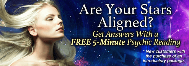 LAre Your Stars Aligned? Get answers with a Free 5-Minute psychic reading. To Learn More Click Here