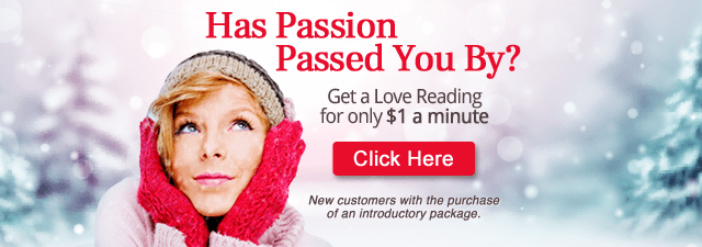 Has Passion Passed You By? Get a Love Reading for only $1 a minute