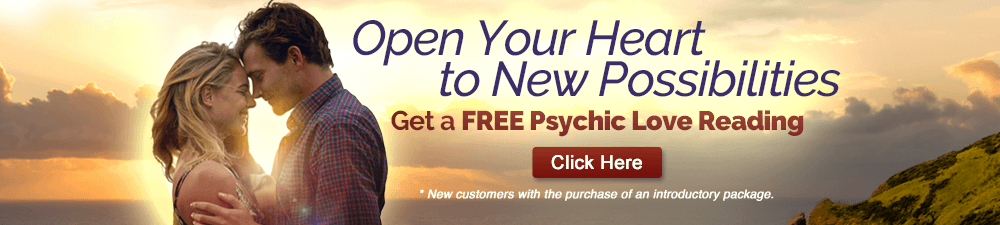 Open Your Heart to New Possibilities. Get a FREE Psychic Reading.