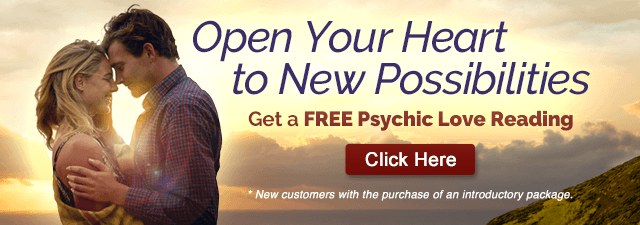 Open Your Heart to New Possibilities. Get a FREE Psychic Love Reading. Click Here
