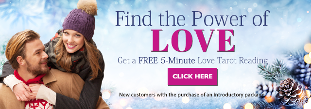 Find the Power of Love. Get a love and romance reading for only $1 a minute. New customers only with the purchase of an introductory package - Click Here