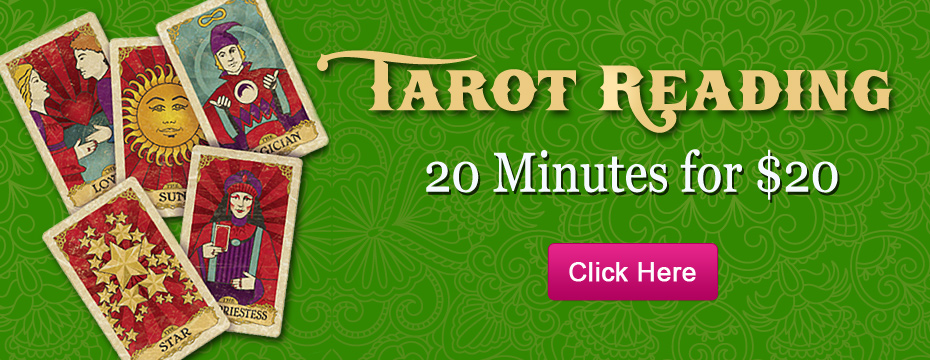 Get a Live Tarot Reading - 20 Minutes for $20